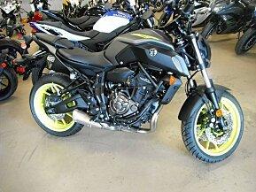 2018 Yamaha MT-07 for sale 200618878