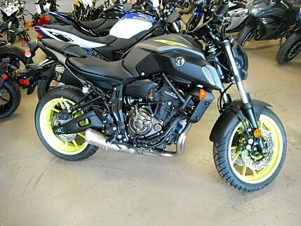 2018 Yamaha MT-07 for sale 200618878