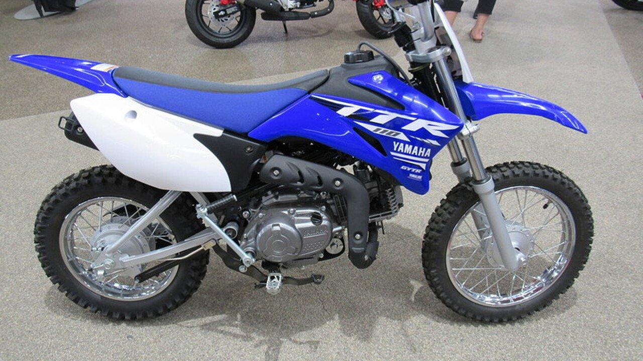 2018 Yamaha TT-R110E for sale 200524544