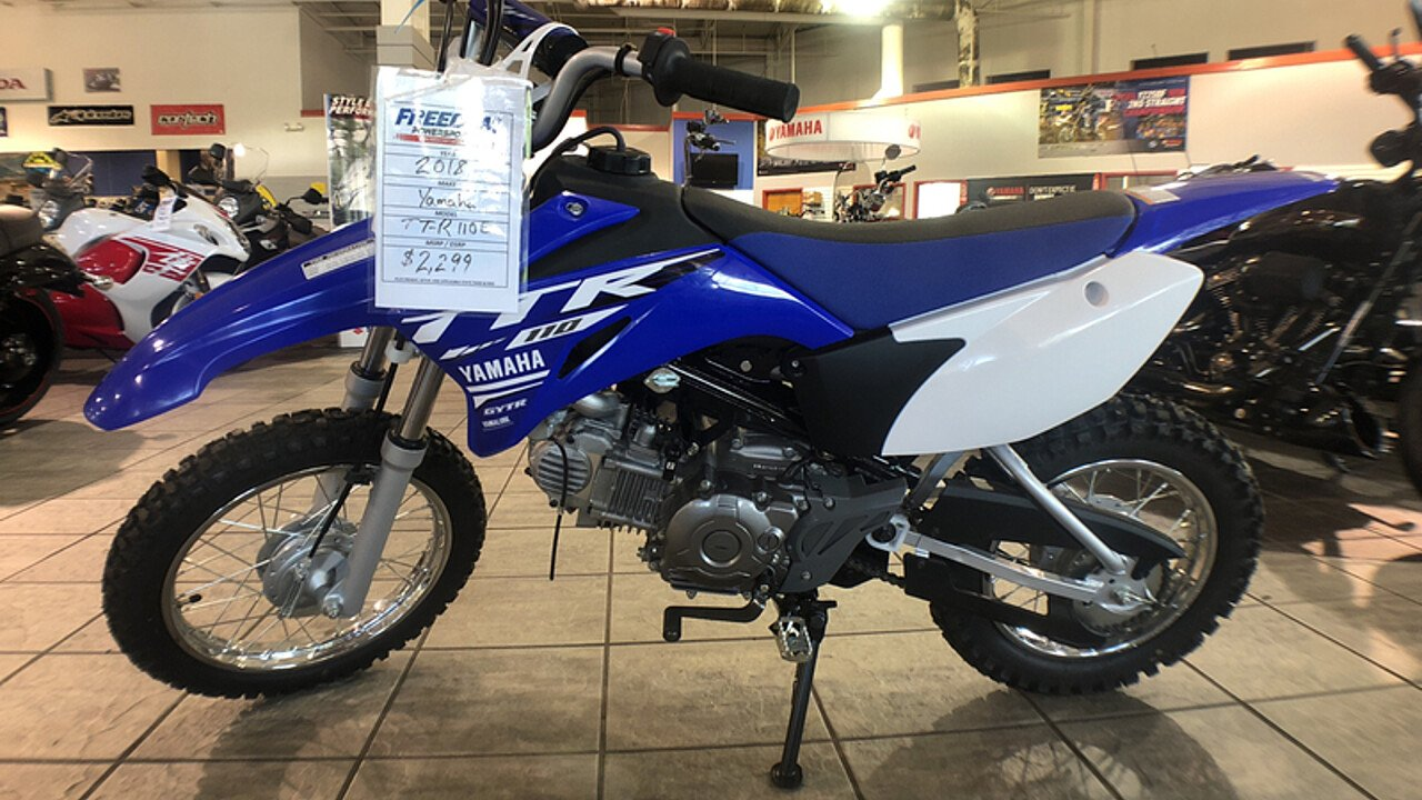 2018 Yamaha TT-R110E for sale 200533709