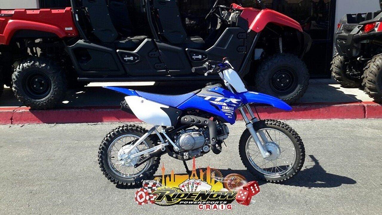 2018 Yamaha TT-R110E for sale 200533711
