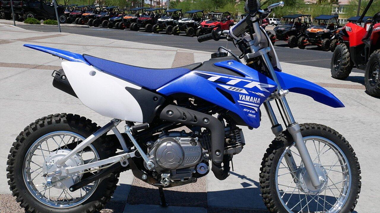 2018 Yamaha TT-R110E for sale 200543896