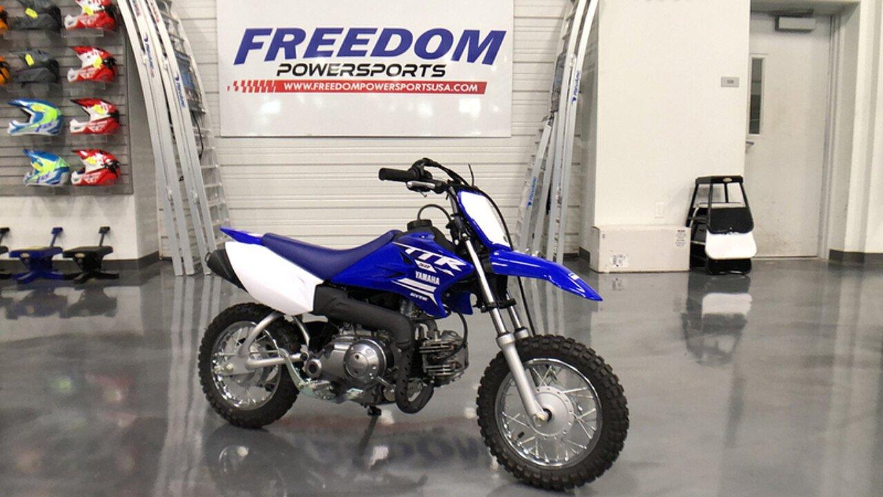2018 Yamaha TT-R50E for sale 200595574