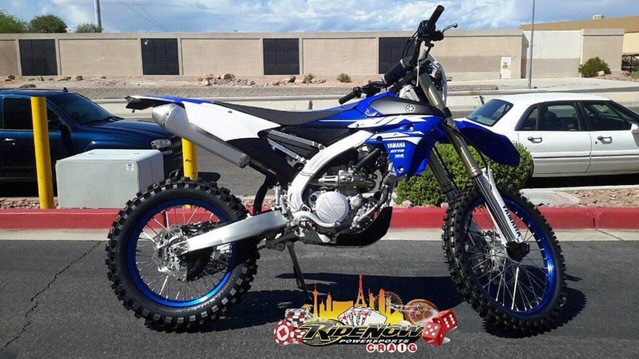 2018 Yamaha WR250F for sale 200492462