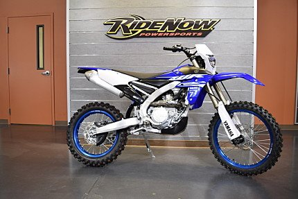 2018 Yamaha WR450F for sale 200490187