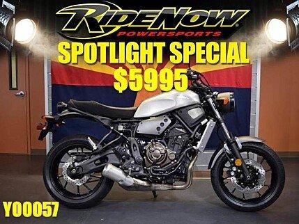 2018 Yamaha XSR700 for sale 200506093
