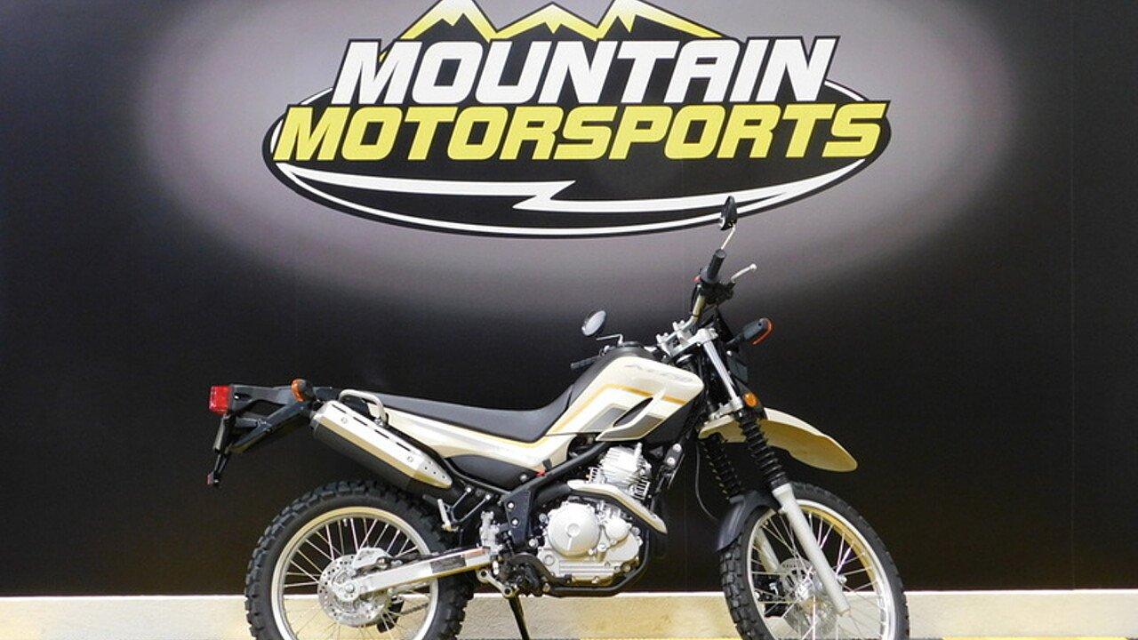 2018 Yamaha XT250 for sale 200555353