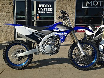 2018 Yamaha YZ250F for sale 200500982