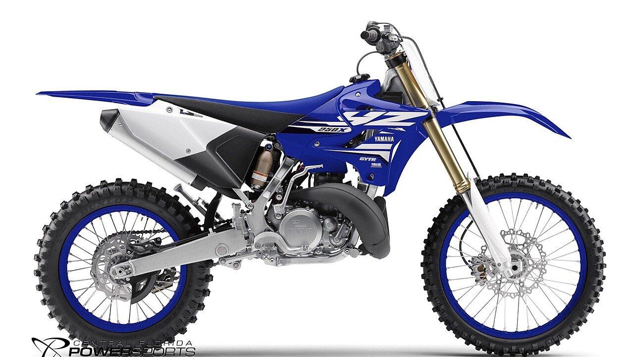 2018 Yamaha YZ250X for sale 200507726