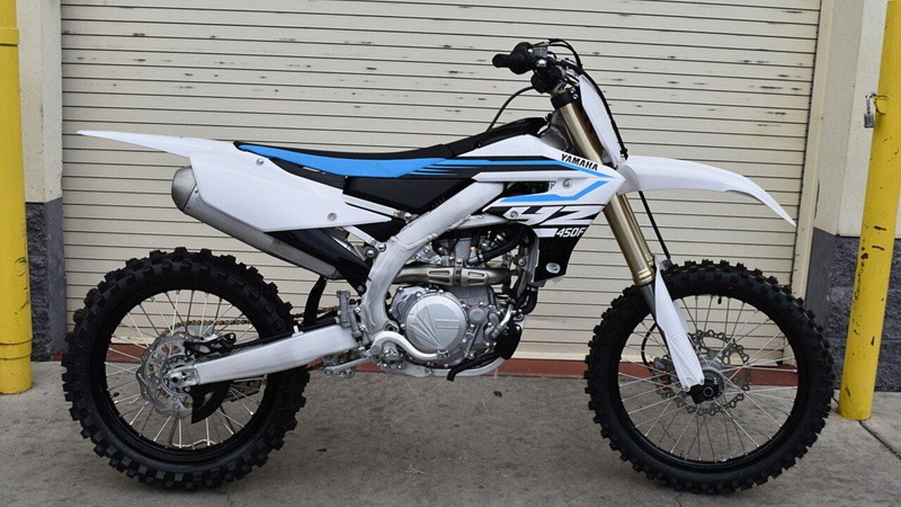 2018 Yamaha YZ450F for sale 200491830