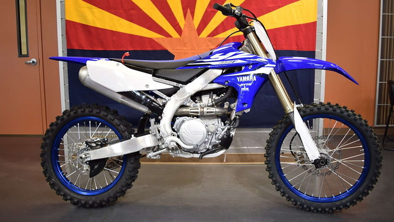 2018 Yamaha YZ450F for sale 200503521