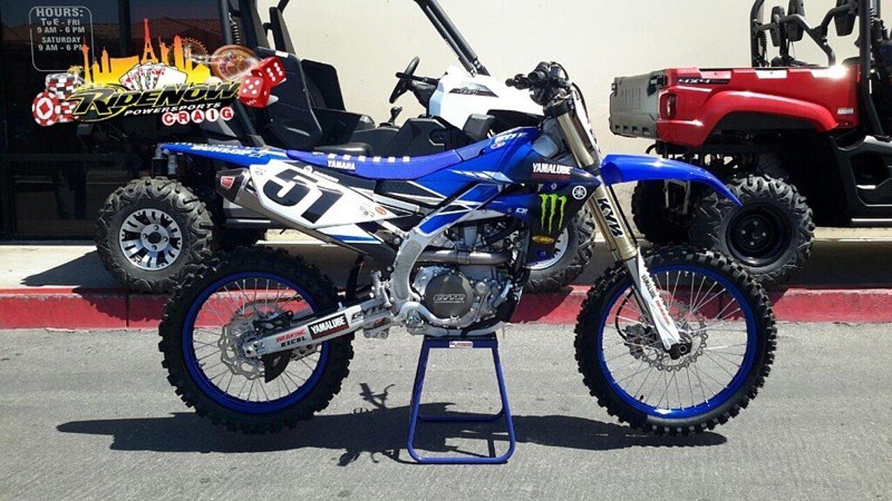 2018 Yamaha YZ450F for sale 200525656