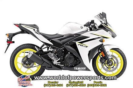2018 Yamaha YZF-R3 for sale 200637168