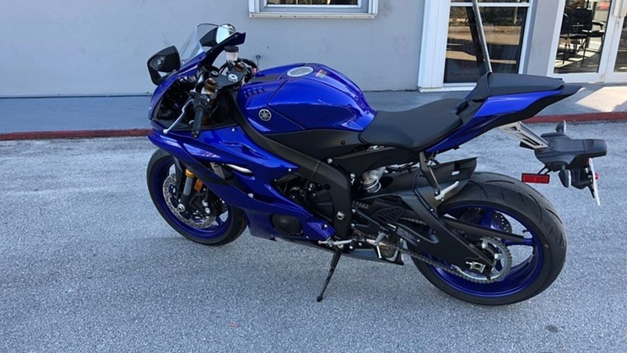 2018 yamaha yzf r6 for sale near miami florida 33169 motorcycles on autotrader. Black Bedroom Furniture Sets. Home Design Ideas