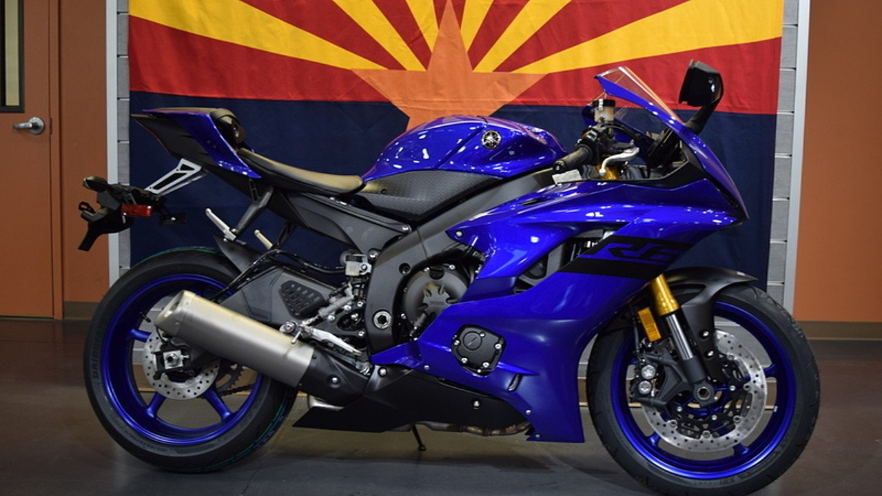 2018 yamaha yzf r6 for sale near chandler arizona 85286 motorcycles on autotrader. Black Bedroom Furniture Sets. Home Design Ideas
