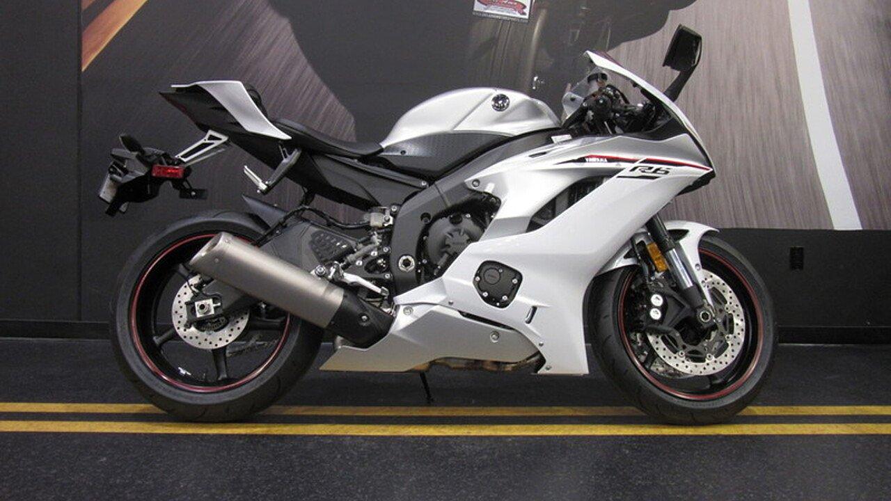 2018 Yamaha YZF-R6 for sale 200526407
