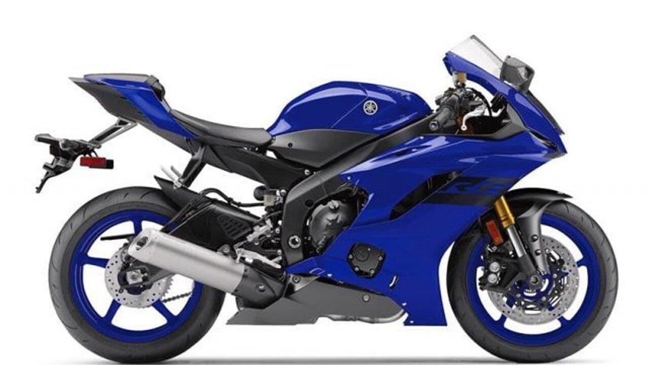2018 Yamaha YZF-R6 for sale 200546845