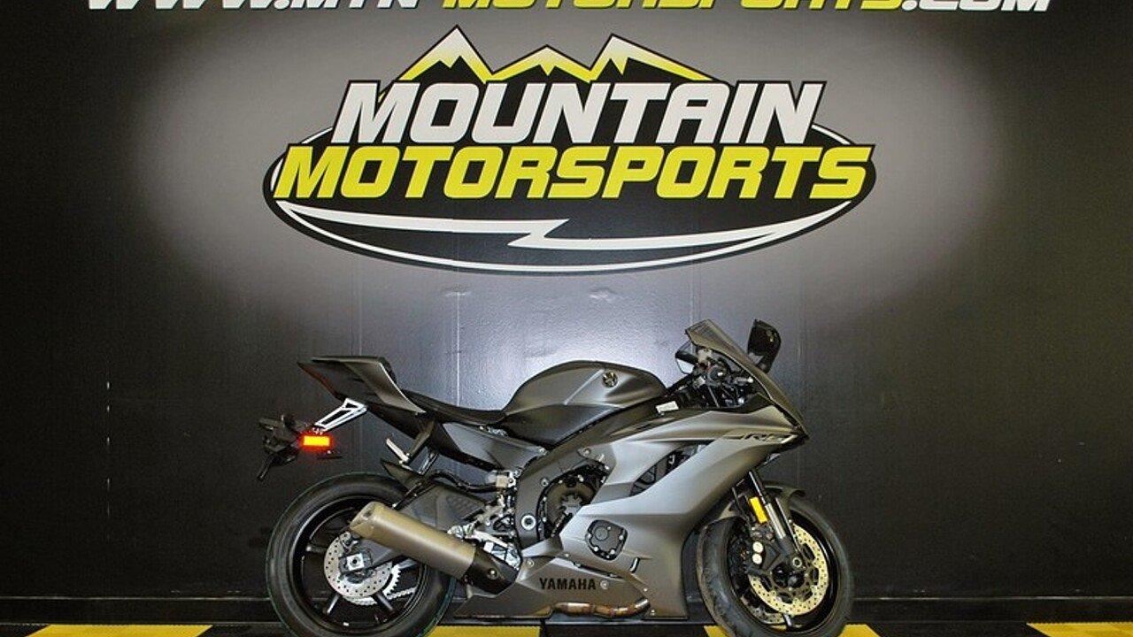 2018 Yamaha YZF-R6 for sale 200550103