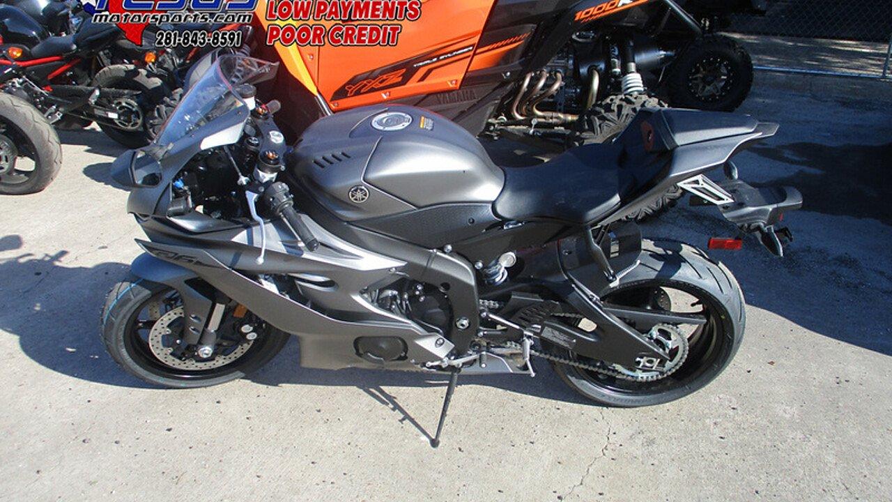 2018 Yamaha YZF-R6 for sale 200584561