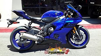 2018 Yamaha YZF-R6 for sale 200591305