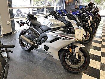 2018 Yamaha YZF-R6 for sale 200630522