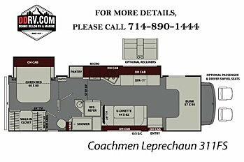 2018 coachmen Leprechaun for sale 300147231