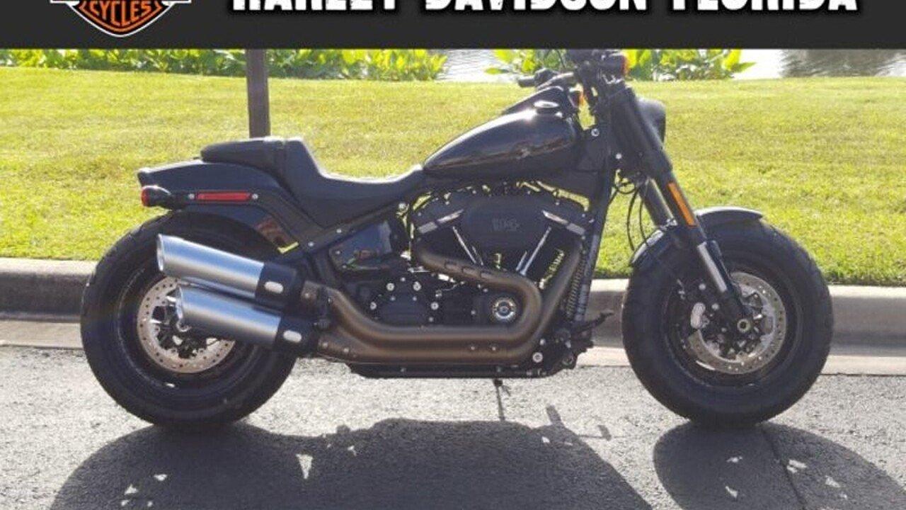 2018 harley-davidson Softail Fat Bob 114 for sale 200595600