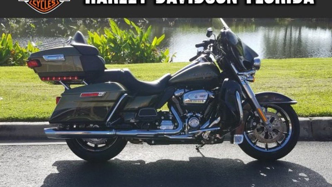 2018 harley-davidson Touring Ultra Limited for sale 200611402