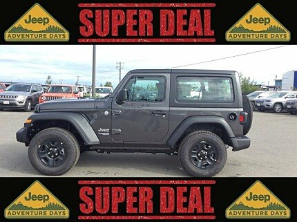 2018 jeep Wrangler 4WD Sport for sale 100992475