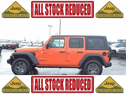 2018 jeep Wrangler 4WD Unlimited Sport for sale 101007464