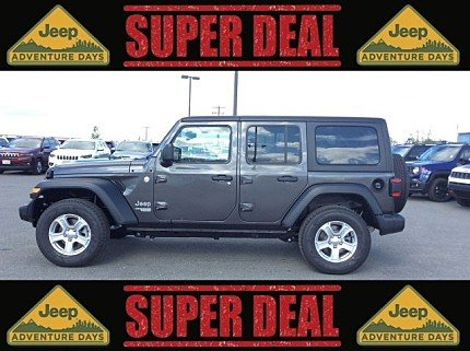 2018 jeep Wrangler 4WD Unlimited Sport for sale 101008907