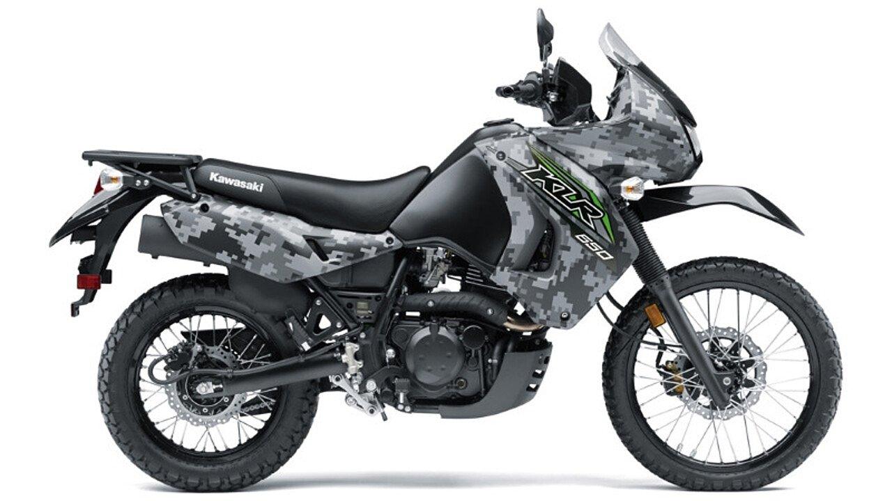 2018 kawasaki KLR650 for sale 200598607