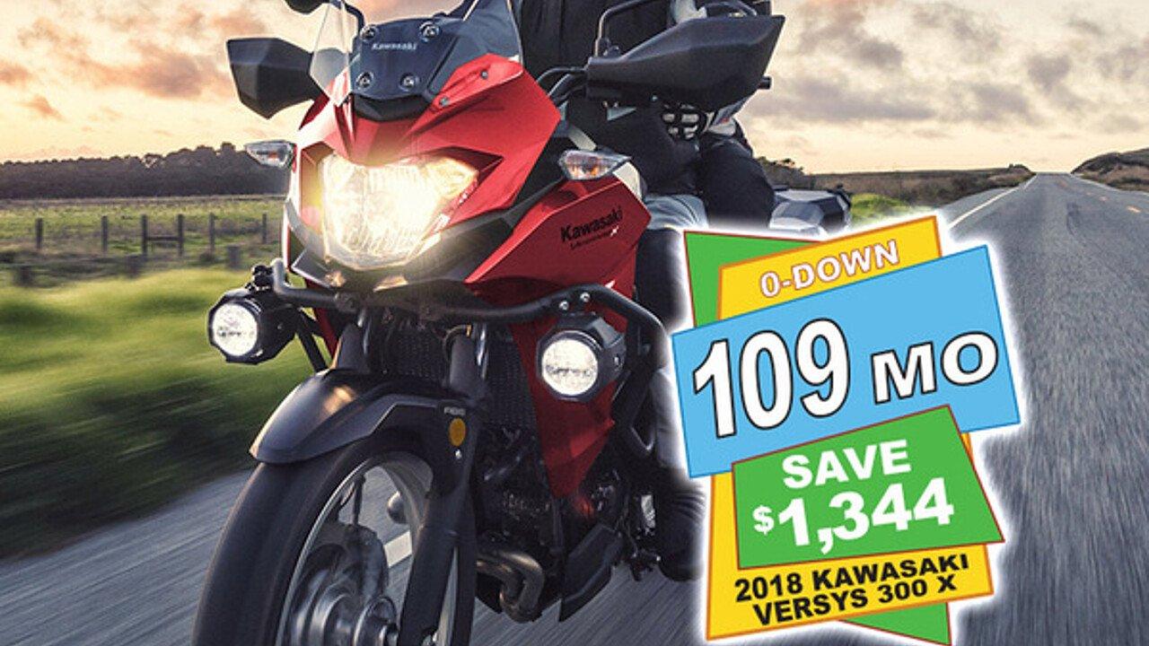 2018 kawasaki Versys X-300 ABS for sale 200571040