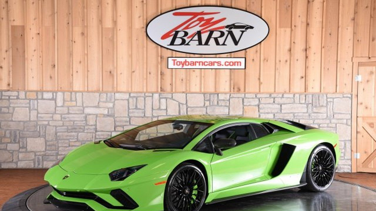 2018 lamborghini Aventador S Coupe for sale 100981254