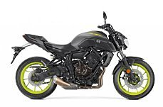 2018 yamaha MT-07 for sale 200619071