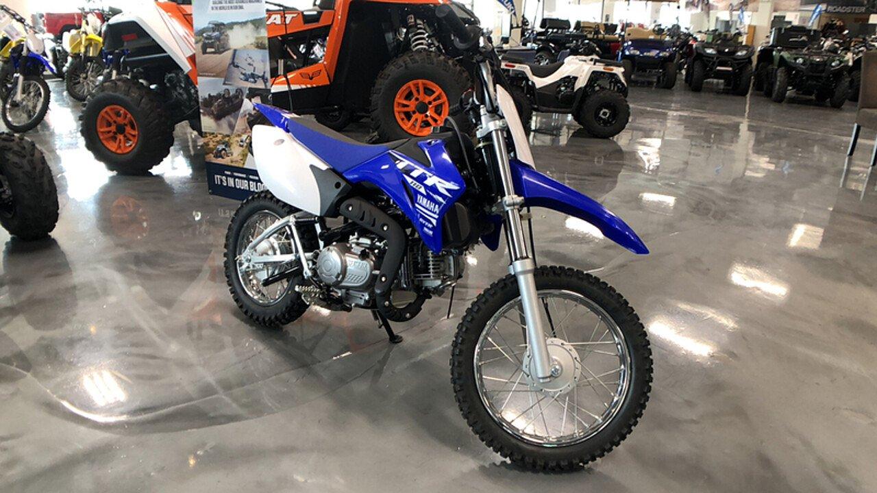 2018 yamaha TT-R110E for sale 200609746
