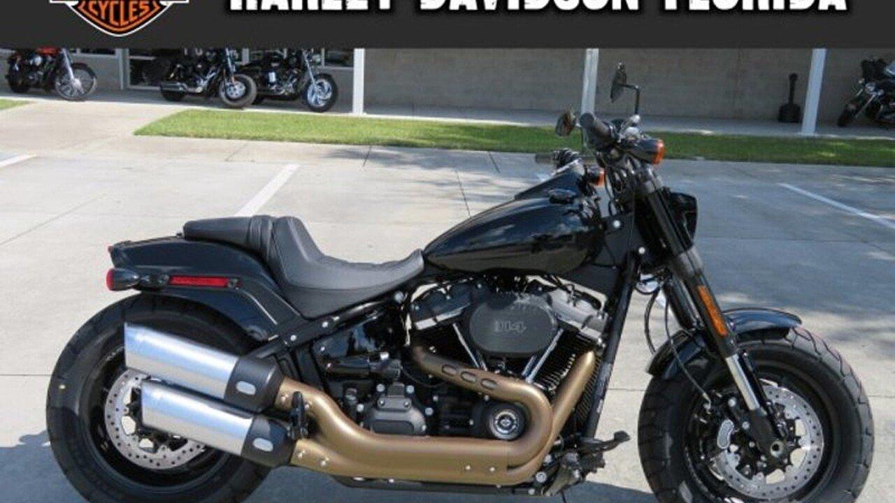 2019 Harley-Davidson Softail Fat Bob 114 for sale 200619224