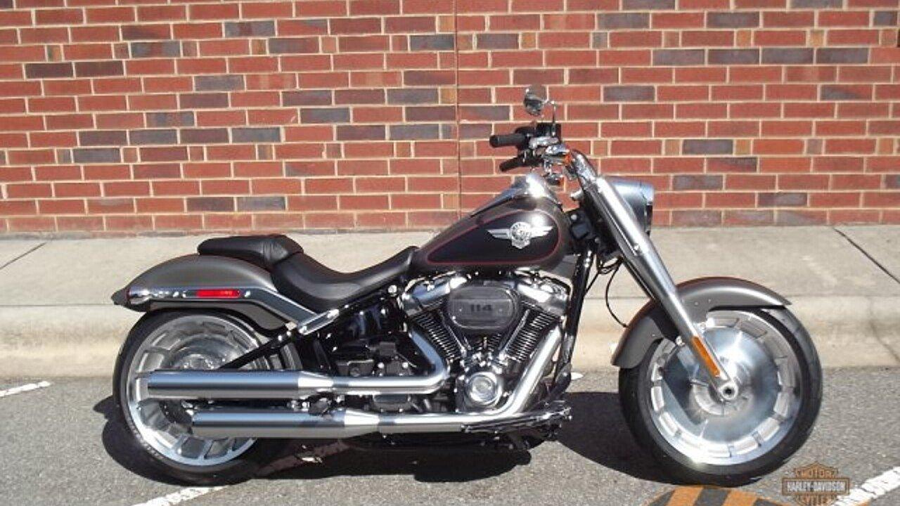 2019 Harley-Davidson Softail Fat Boy 114 for sale 200622569