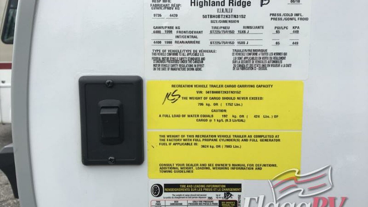 2019 Highland Ridge Light for sale 300173840