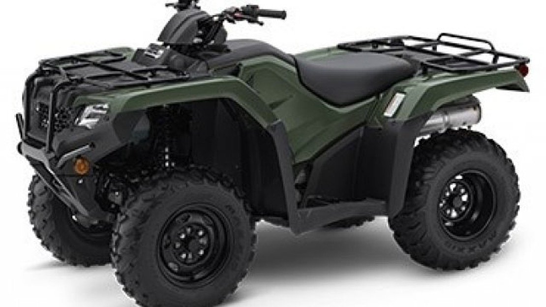 2019 Honda FourTrax Rancher for sale 200621314