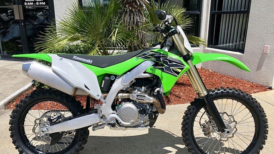 2019 Kawasaki KX450F for sale 200622977