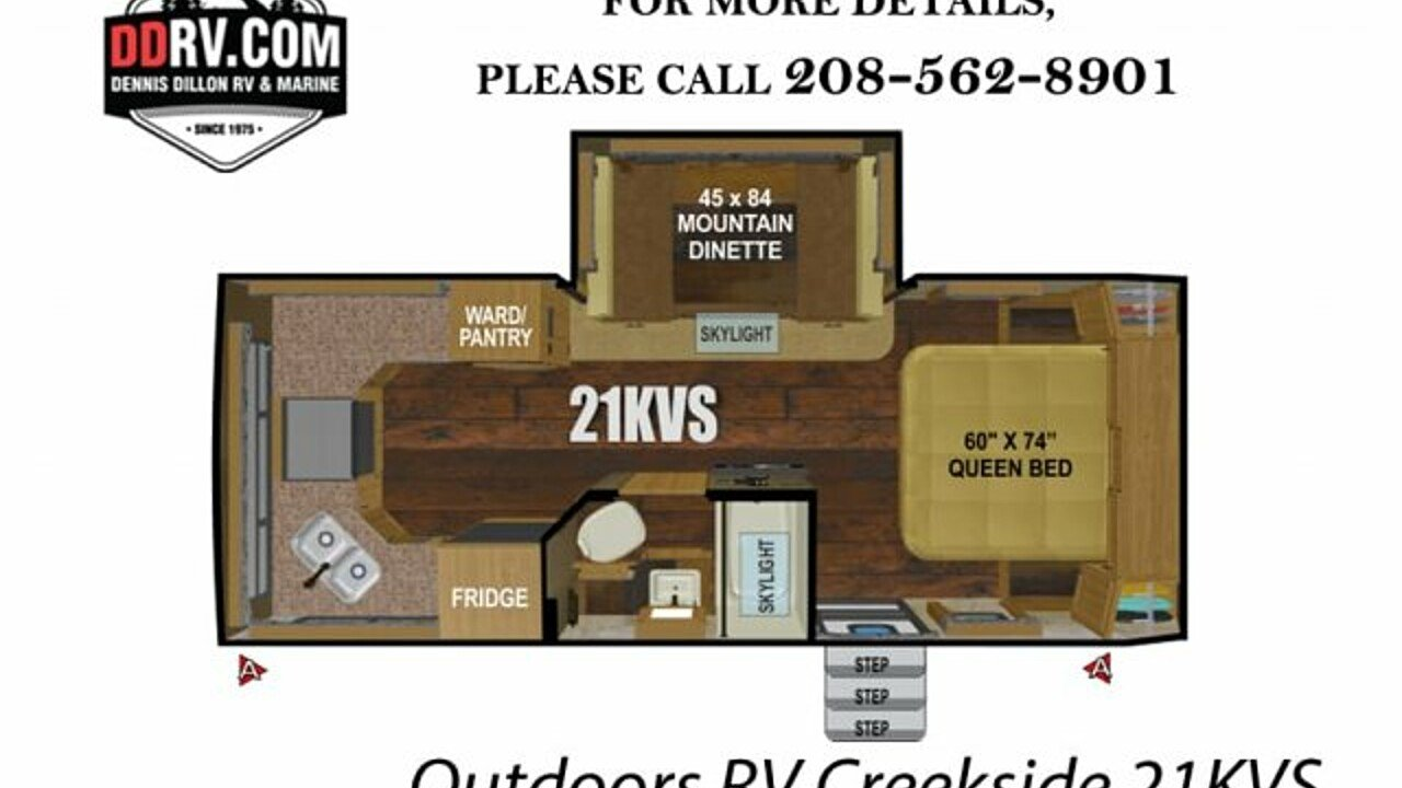 2019 Outdoors RV Creekside for sale 300159116