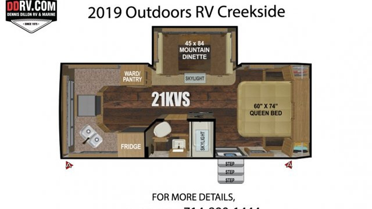 2019 Outdoors RV Creekside for sale 300165660