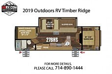 2019 Outdoors RV Creekside for sale 300161273