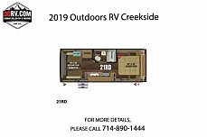 2019 Outdoors RV Creekside for sale 300161415