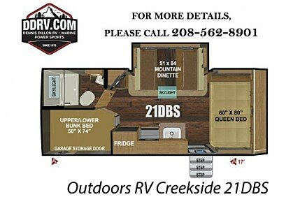 2019 Outdoors RV Creekside for sale 300164097