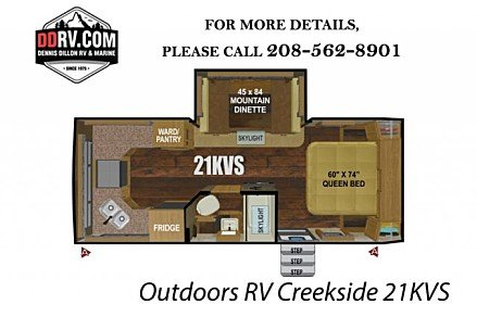 2019 Outdoors RV Creekside for sale 300164931