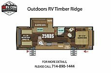2019 Outdoors RV Timber Ridge for sale 300163564