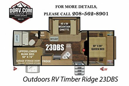 2019 Outdoors RV Timber Ridge for sale 300163777