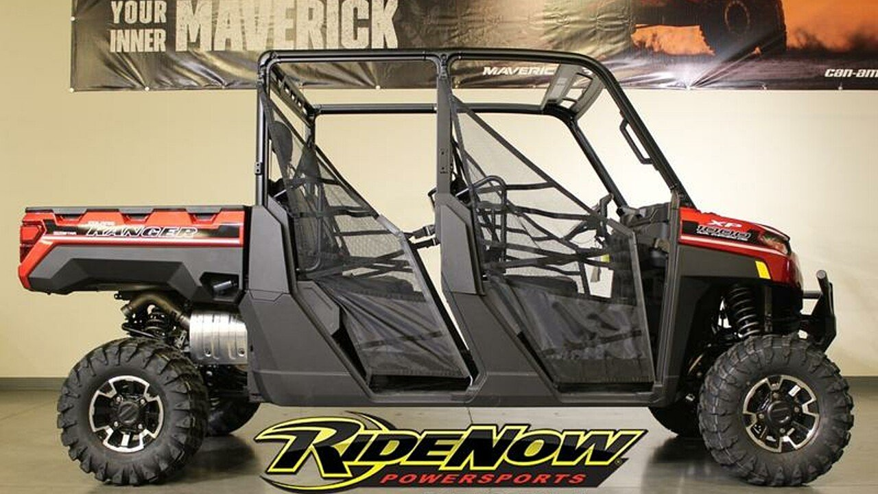 2019 Polaris Ranger Crew XP 1000 for sale 200585030